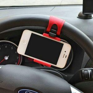 자동차 홀더 미니 에어 벤트 스티어링 휠 마운트 휴대 전화 모바일 홀더 범용 지원 브래킷 스탠드 클립