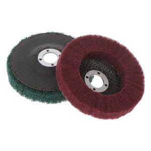 Nylon Macchinari Metallurgia fibra mola di lucidatura di lucidatura Disco spugnetta abrasiva attrezzo rotativo Brush