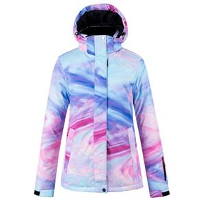 Veste de neige pour les femmes d'hiver 2020 imperméable, coupe-vent, veste épaisse et la neige chaude pour les femmes d'hiver 2020