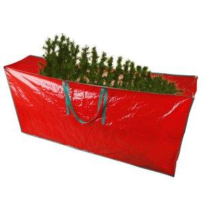 Fuertes XMS Zippered Navidad Bolsa grande X-Mas Jumbo Tree Impermeable Talla extra Talla de almacenamiento Bolsa de almacenamiento Plegable Árbol Organizador Decoración Bhkkb
