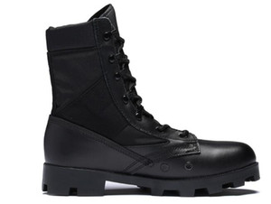 Cuero contra la felpa zapatos respirables 2019 Ejército de los aficionados de la moda botas altas de absorción de impactos zapatos de entrenamiento de fitness Deportes al aire libre
