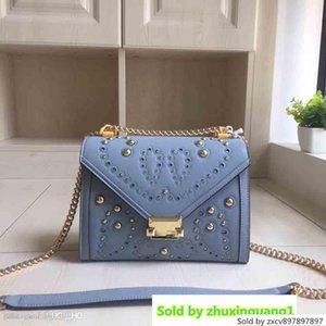 Blu Rosso Shangxin signore scavano Messenger Shoulder Bag Fashion Designer To One Production Bianco Polvere Nera Cinque colori Cod