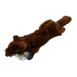 Squeaky Fun Dogs Animal Set Pet Stuffed Gift Squirrel for Toys Chew Dogs Squeaker Rabbit Honking Shape Large Wolf Non