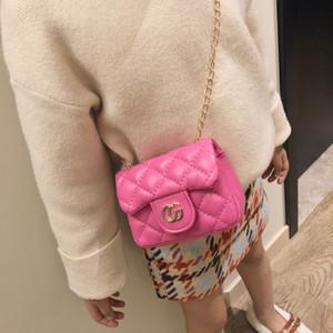 2019 Nuevos bolsos de los niños para las niñas cadena de moda bolsas niños bolso de asas chicas monedero mujeres mini bolsa de mensajero bolsa de hombro regalo para niños AAA198