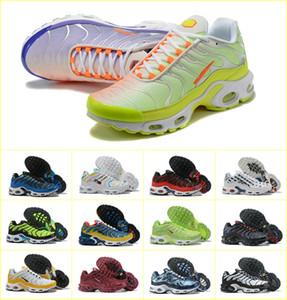 De haute qualité 2019 Top qualité Sports de plein air TN MEN Chaussures Robe BASKET REQUIN pas cher MESH respirante noir Chaussures Homme Zapatillaes TN chaussures