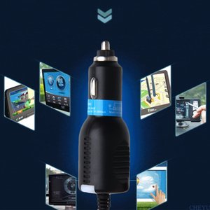 Nova alta qualidade dc 5 v 2.5a mini usb car power adapter cabo de cabo adaptador para câmera gps 3.5 m