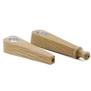 8 см 2 стили мини-твердая деревянная труба полоса простой портативный курительная трубка творческий фильтр ручной сигареты горящая трубка курение BH1821 CY