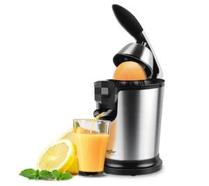 Нержавеющая сталь Оранжевый 160W Лимонный электрический комплект соковыжималки алюминиевый сплав -casting ручка бытовой низкой мощности