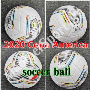 neue 2020 Copa America Fußball Finale KIEW PU Größe 5 Bälle Granulat rutschfester Fußball Frei hohe Qualität Bälle Versand
