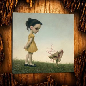 Mark Ryden Ear,HD Canvas Printing New Home Decoration Art Painting (Unframed Framed)