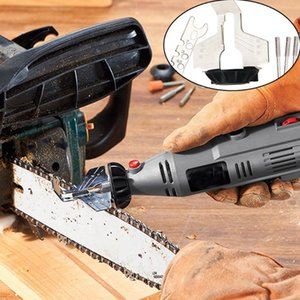 Hand Elektrosäge Folding Garten Sägekette Zubehör Messerschärfer Kettensäge Kettenschärf Grinder Datei-Set Tool # T1P