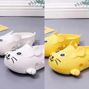 Cute cartoon baby's indoor and outdoor light sandals slip slippers bath Sandals children's children's shoes room bath shoes