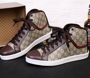 168LouisVuittoone High Quality Mens Womens Brand Shoes High Sneakers Fashion Low Casual Flat Outdoor Driving Shoesis Brown