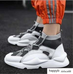 New Y3 Style High Top Mens Sneakers Triple Black Grey Yellow High Quality 2019 Boots Trainers Outdoors Sports Shoes