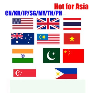 Hot for Asian China Japan Korea Malaysia Singapore Thailand Philippines Indonesia HK TW smart tv box works for androidtv box phone only