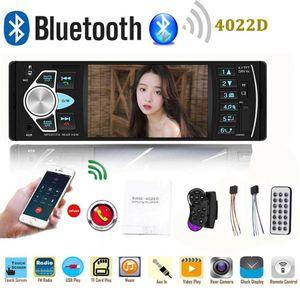 1Din Radio de coche con pantalla Monitor de vídeo Bluetooth Hansfree USB coche Auto Audio estéreo MP5 reproductor soporte SD