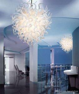 Enerji Tasarrufu Zhongshan Üretici Hand Hotel Lobi Dekor için Cam Avizeler Aydınlatma Art Glass kolye ışıkları Üflemeli