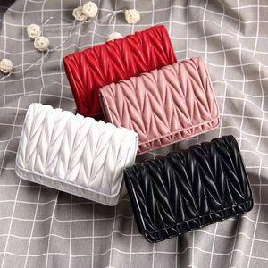 Женщины Ромбовидной плед цепь сумка Классического плиссе закрылки одно плеча сумка Переплет версия Top Luxury Handbag Leather Designer