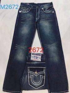 Liberi la nave vendita calda 2019 Nuovi jeans True Elastic Mens Robin Rock Revival Jeans Borchie di cristallo Pantaloni Denim Designer Pantaloni shorts da uomo788