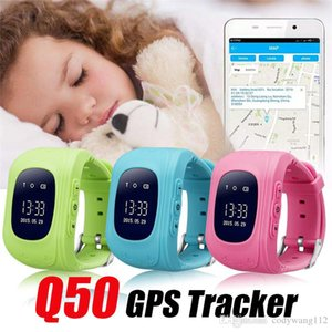 Q50 smart Watch LCD GPS Tracker for Child Kid SOS Safe Call Location Finder Locator Trackers smartwatch for Kids Children Anti Lost Monitor