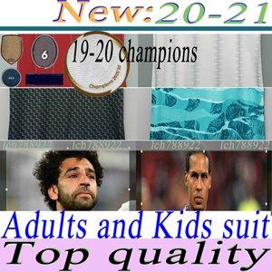19 20 champions soccer LVP jerseys Gerrard special edition Smicer Alonso Hamann BARNES KUYT Cisse new 2020 2021 Football Shirt men+kids suit