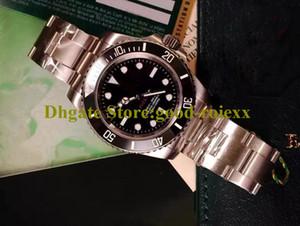 Novos Homens Ásia Automático Relógios Em Mens Não Data Sapphire Relógio Preto Cerâmica Bezel 114060 Dive Homens Esporte Baselworld Crown Crown WristWatches