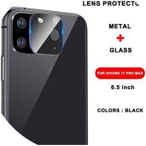 Совместимость для iPhone 11 Pro XS Max Glass Camera Lens Screen Protector, IP11 Pro Max Black camera glass