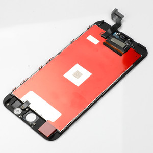 Новое Поступление ЖК-Дигитайзер Сенсорный Экран Мониторы для 6splus 6s Plus Замена Сотового Телефона Высшего Сорта Черный Белый Поддержка Mix Order