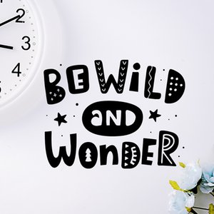 Wall Sticker Be Wild And Amazing Decoration Wall Decals For Windows Windows Furniture Mirrors