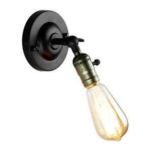 110V 120v 220v 230v 240V RH Loft perilla del interruptor de la lámpara de la cama minimalista ala del balcón apliques de pared del café mini hogar decorativo de la pared la luz fixt aplique