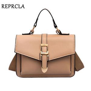 REPRCLA 2019 nuova borsa a tracolla moda flap piccole borse crossbody per le donne borse a tracolla messenger borse in pelle da donna a mano Y190606
