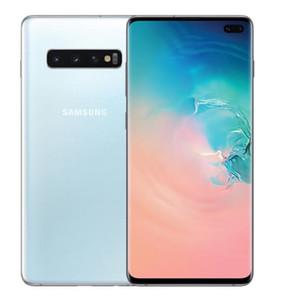 Refurbished Original Samsung Galaxy S10 S10 Plus G975U G973U Unlocked Phones 8GB 128GB 6.1 6.4Inch 3 Rear Cameras 16MP