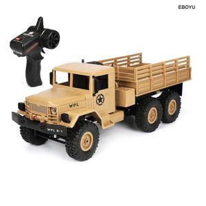 WPL B16 RC Грузовик B16 1/16 2.4G 6WD Гусеничного Off Road RC Грузовик с легкой RTR