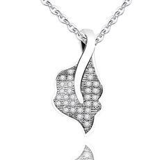 semplice catena pendente breve clavicola 20200308 delle donne S925 collana di accessori