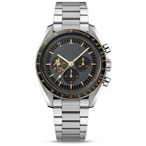 """Топ бренд швейцарские часы для мужчин """"Аполлон-11"""" 50-летие она часы кварцевые движения циферблат работа самогона быстрого набора Монтре де люкс"""