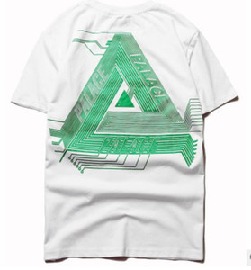 popolare logo americane di hip hop skate uomo in Europa e il circuito stampato in puro cotone manica corta T-shirt unico