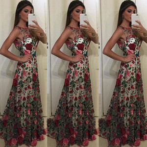 New Hot Sexy Fashion Women Formal Flower Long Party Prom Ball Gown Wedding Floral Long Dress
