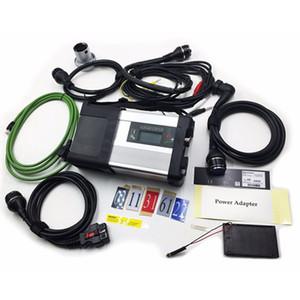MB Star C5 для Mercedes Benz автомобильных диагностических инструментов, поддерживающих WiFi OBD сканера Разъем SD C5 Мультиплексор пяти кабелей для автомобилей Грузовых автомобилей