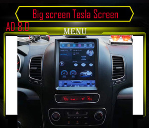 10.4 inch Big screen Tesla Screen Vertical Screen Android Car PC GPS Navigation Radio Player For KIA Sorento Low match