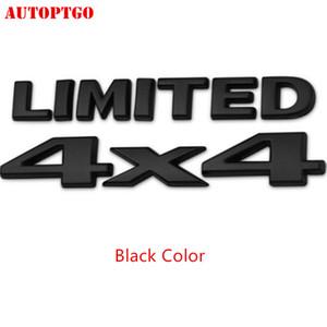 Araba Şekillendirme Kuyruk Sticker Sınırlı 4x4 Arma Rozet Çıkartması İçin Jeep Grand Cherokee Wrangler Pusula Liberty İçin Ford F150 Dodge Ram Chevy