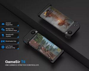 Gamesir T6 Einhand Bluetooth 4-6 Zoll Einstellbare Gamepad für Handy-Spiel
