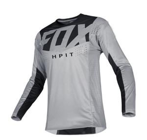 camisa Hpit Fox New Jersey Long Sleeve Downhill Mountain Bike T MTB Maillot bicicleta camisa uniforme Ciclismo roupa da motocicleta roupa