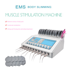 2020 nouvelle arrivée électrostimulation Waves machine électrique ems Muscle Stimulator microcourants Machine minceur corps EMS infrarouge lointain