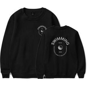 Mac Miller Swimming Sweatshirts Men Casual Crewneck Hoodie Harajuku Kpop Streetwear Sweatshirt Fashion Female Cool Plus Size Top