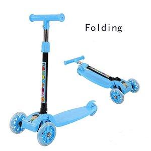 Best Selling Kinder Roller Mutter-Baby-Geschenk One Button Up- und Down-Folding-vordere und hintere grelle Rad-Hoch Auto-Schwingen-Roller