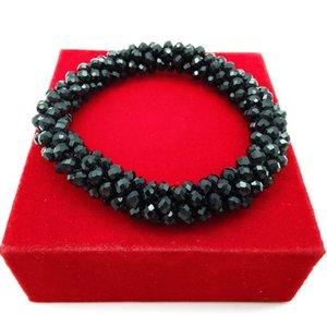 YD YDBZ Weinlese-Stulpe-Kristallarmband und Mode Flexible Lovers Charm-Armband für Nordic Frauen Handgelenk Harajuku Schmuck Armband