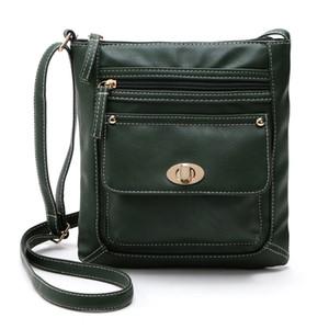 Pelle Moda Donna CHISPAULO cartella della spalla del corpo della traversa Messenger Bag borsa a tracolla femminile Donne Borse