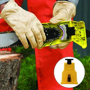 2020 vendita CALDA Denti funzionale Chainsaw Temperino affila motosega motosega affilatura System Tool abrasivi Strumenti