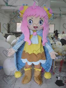 фея талисман костюмы красоты девушка мультфильм ангел ходьба актер custome дети party show POLE STAR костюмы талисмана