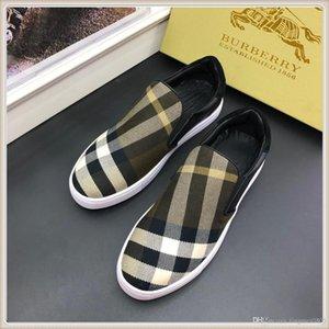 design de luxe 2019 Nouveau Top qualité Arrivée Mode Hommes Chaussures de luxe High Top Hommes lacent Respirant Casual Sho Zapatos Vintage Hommes